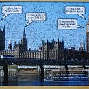 Houses Of Parliament Wooden Jigsaw