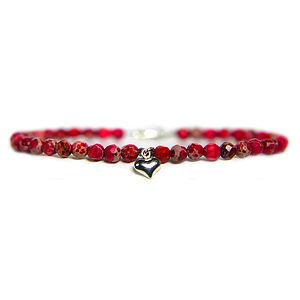 Love Heart Charm Keepsake Bracelet - women's jewellery