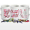 Personalised Love Mug & Chocolates