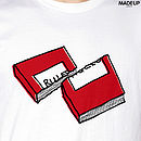 Rules White T-shirt graphic 750