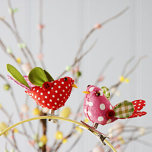 Clip On Bird Easter Decoration - storage & organisers