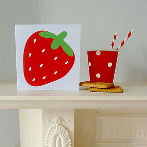 Fruity Greetings Card