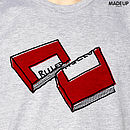 Rules Grey T-shirt graphic 750