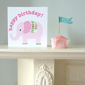 'Happy Birthday' Elly Greetings Card - shop by category