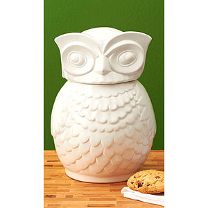 Owl Cookie Jar - kitchen