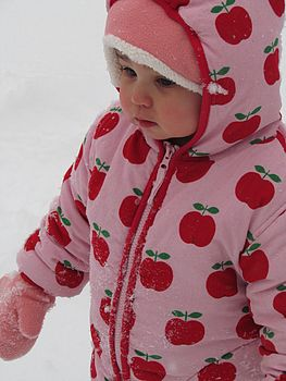 Red Apple Padded Cord Jacket