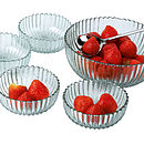 Set Of Four Recycled Glass Dessert Bowls