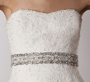 Tabatha Wedding Dress Belt - wedding fashion