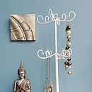 Jewelscope Jewellery Stand In White