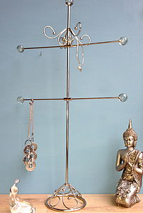 Queen Jewellery Stand - jewellery storage