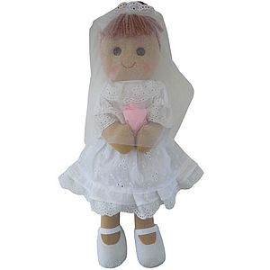 Bride Rag Doll - toys & games