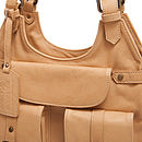Lucia Leather Satchel Handbag