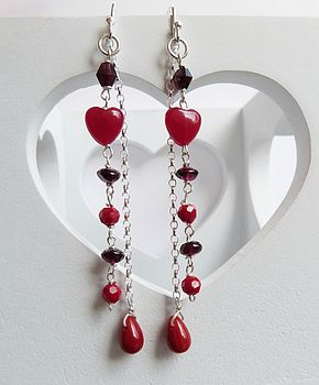 St. Valentine's Earrings