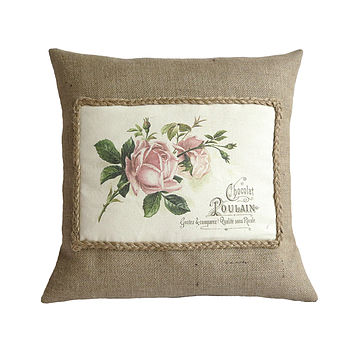Vintage Roses Cushion Cover
