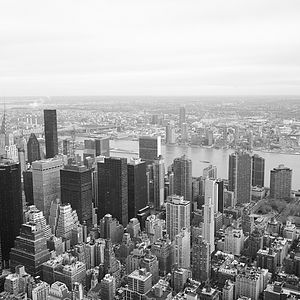 New York Skyline Photographic Print - cityscapes & urban art