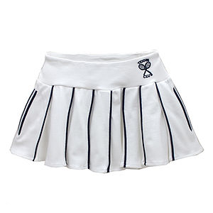 French Design Pleated Tennis Skirt