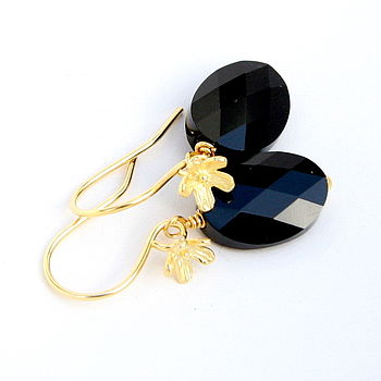 Swarovski Floral Earrings
