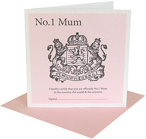 Royalty Mother's Card - shop by category