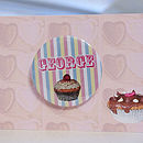 Personalised Mini Badge Place Card