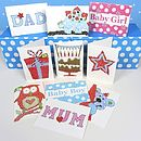 Pack Of 10 Family Cards