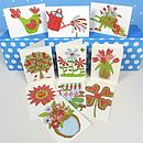 Pack Of 10 Garden Cards