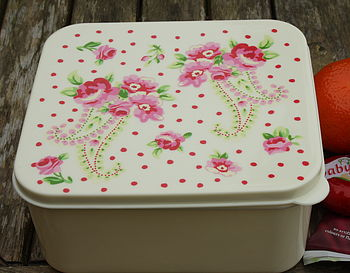 Rose And Paisley Lunch Box