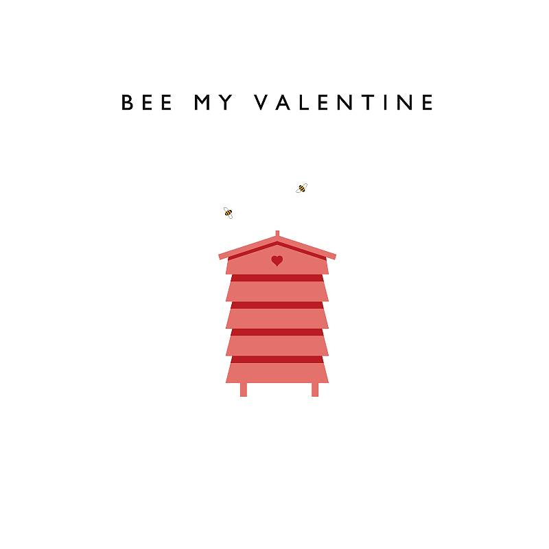 bee my valentine card by loveday designs – Bee My Valentine Card