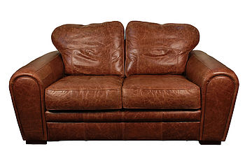 Heritage Traditional Leather Sofa