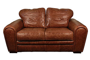 Heritage Classic Leather Sofa - furniture