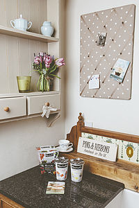 Dotty Memo Board And Pin Board - art & pictures