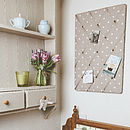 Dotty Memo Board