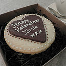 Personalised 'Heart' Shortbread Biscuit