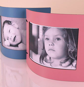 Pastel Leather Photo Frame