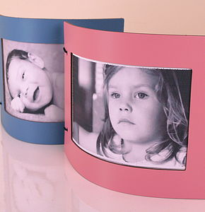 Pastel Leather Photo Frame - picture frames