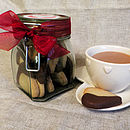 Thumb jar of hearts chocolate shortbreads