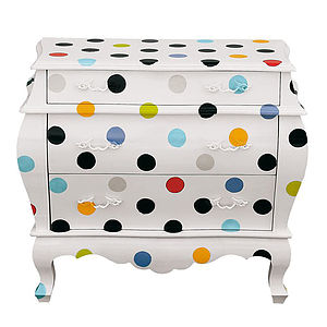 Spotted Chest Of Drawers