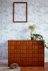 Woodlands Wallpaper - living & decorating