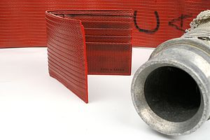 Reclaimed Fire Hose Billfold Wallet