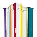 Multi Coloured Stripy Wardrobe