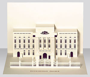 Buckingham Palace Pop Up Card