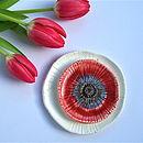 Poppy Inspired Ceramic Stacking Bowls