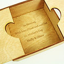 Personalised Wooden Heart Box