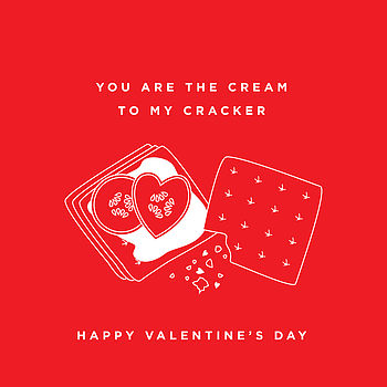 The Perfect Match Cracker Valentine's Card