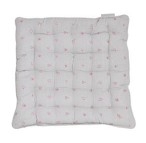Rose Chair Pad Cushion - bedroom