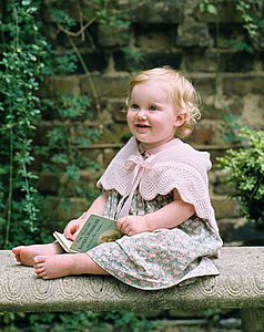 Cashmere Christening Cape - clothing