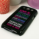 Personalised Case For Samsung Galaxy S3