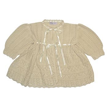 Cashmere Lacy Christening Coat