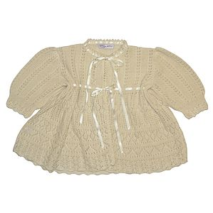 Cashmere Lacy Christening Coat - babies' coats & jackets