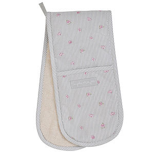 Rose Double Oven Glove - kitchen accessories