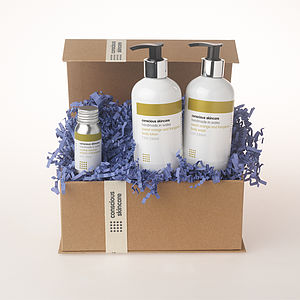 Luxury Organic Body Set - bathroom